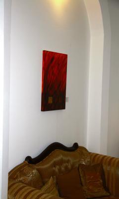 Glomp art kunst aus dem inneren klaus glomp zeigt einen for Hotel amical wuppertal